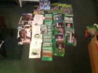COLLECTION OF OLD CELTIC FC PROGRAMMES