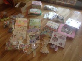 Card Making, Scrap Booking. Crafty Job Lot