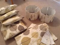 Lovely Dunelm Curtains/Cushions/Lampshades