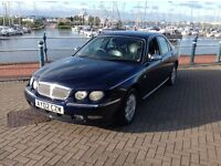 Rover 75 2.0 v6 automatic petrol connoisseur with full leather seats with an mot until the 15 06 17