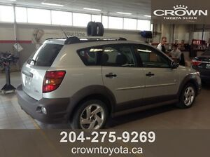 AS IS/AS TRADED 2004 PONTIAC VIBE HATCHBACK! LOCAL TRADE IN WIT