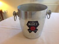 Vintage Moët and Chandon Chmpagne Bucket