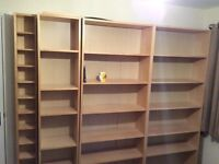 Billy Bookcases For Sale £55
