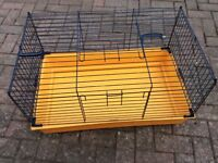 Hamster or guinea pig cage