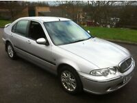 2002 ROVER 45 TURBO DIESEL 5-DOOR **MOT OCTOBER**FSH**VERY LOW MILEAGE**ONLY 77K FROM NEW