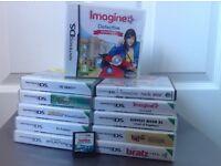 12 Nintendo DS Games.