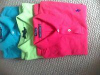 3 x Ralph Lauren Polo Shirts