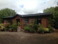 Stunning 2 Bed Modular Home/Log Cabin. Double Glazed. OFCH. Fully Fitted Kitchen,Utility, Bedrooms