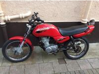 HONDA TRIALS BIKE 125CC SPORT CG CDI