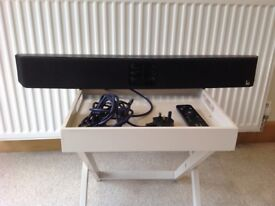 "Sound bar for television 31"" - made by Roth - wired"