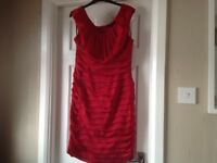 Ladies Red Cocktail Dress