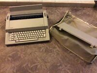 Olivetti electric typewriter