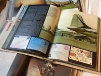 Full Set of History of Aviation Partwork in Original Binders