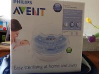 Avent microwave steam steriliser - brand new in box!