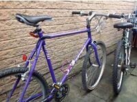 Man's mountain bike - used