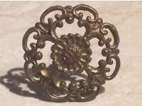 Vintage drawer handle - just the one