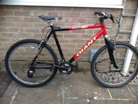 Giant Boulder men's mountain bike