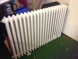 Old style school type radiator