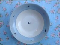 Poole Pottery 'Fresco' large bowl by Rachel Barker