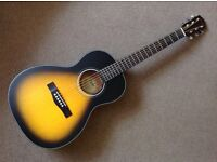 Fender CP100 Parlor Size Acoustic Guitar and Padded Case, As New