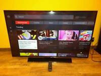 Samsung 50 inch UHD 4K LED TV with Wi-Fi QuadCore and Freeview HD