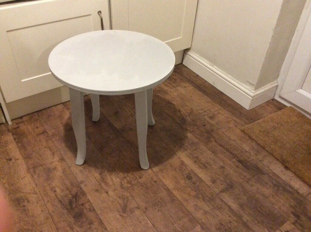 Magnificent Lovely Solid Wood Grey Side Table Looks Fab Next To Sofa In Liverpool Merseyside Gumtree Uwap Interior Chair Design Uwaporg
