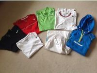Nike and Babolat tennis clothes