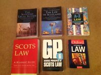 Scottish Law Books - General Principles / Dictionary etc