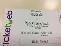 Gabrielle Aplin ticket for Bristol 24 October