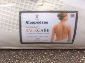 Orthopaedic Backcare support mattress single