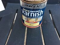 Ronseal quick dry clear varnish