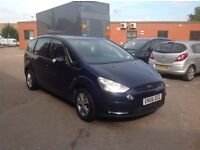 Ford S Max Diesel 7 Seater Good Condition with history and mot