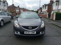 2008 MAZDA 6 TS2 5dr hatchback petrol manual 1 owner 6 Speed low mileage full service history £2695