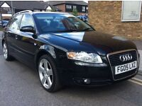 2005 AUDI A4 AVANT DIESEL 6 SPEED, AIR CON REMOTE CENTRAL LOCKING SERVICE BILLS 1 YR BREAKDOWN COVER