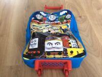 Thomas the Tank pull along bag