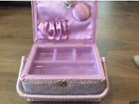 Purple sewing box