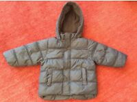Zara Kids Navy Boys Coat 2-3 years old (98cm)