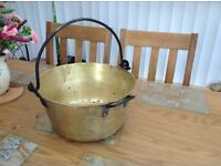 Antique cauldron.