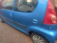 Peugeot, 107, Hatchback, 2008, Manual, 998 (cc), 5 doors. Spares or repairs.