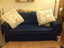IKEA Ektorp two seater sofa .