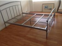 Good condition Double bed frame with mattress