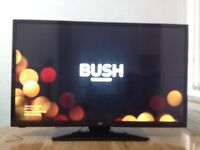 Bush 32 Inch HD slim LED TV Built in Freeview, USB working condition