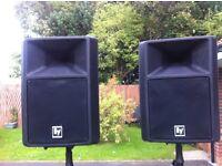 EV SX100+ Active Speakers
