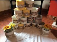 Wedding flower centre pieces