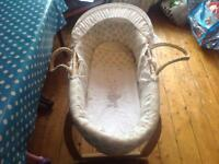 Mothercare Bassinet and stand