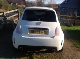 £7150 Hatchback. 33665 miles Manual Petrol Fiat 500 Abarth 135 HP