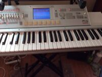 Korg M3 Expanded fitted with Radias board and 250 Ram