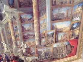 Very Large Italian Style Painting/Picture