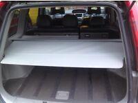 Nissan x-trail retractable parcel shelf / load cover