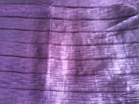 King size Duvet cover and 2 pillowcases. Next. Grape in colour. pleated effect. Used once.